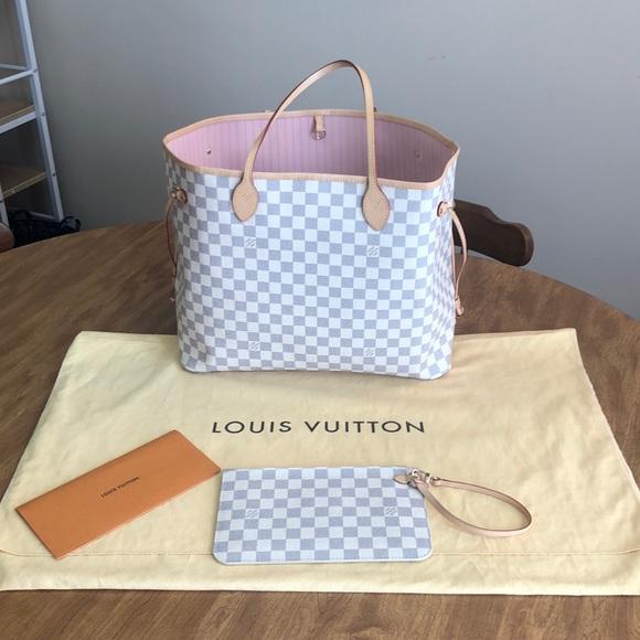 553e5235f04 Louis Vuitton Handbags - Louis Vuitton Neverfull GM. NM D. AZUR R.BAL
